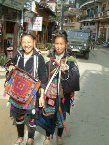 Hill Tribe Villagers in Sapa
