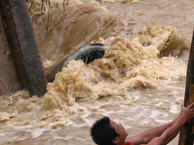 Rushing Water!