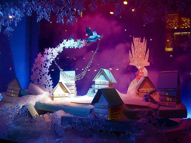 Tiffany's Holiday Window