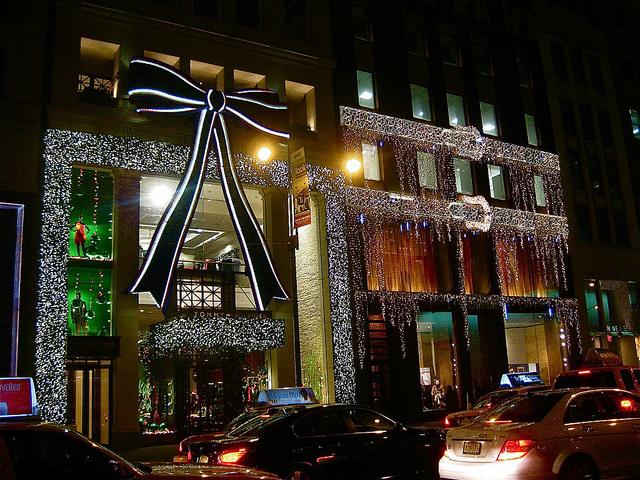 Fifth Avenue Store Decorations
