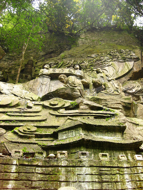 Emei Shan Rock Carvings