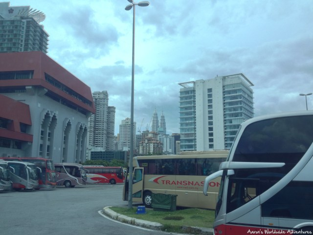 Kulala Lumpur's Puduraya Bus Station