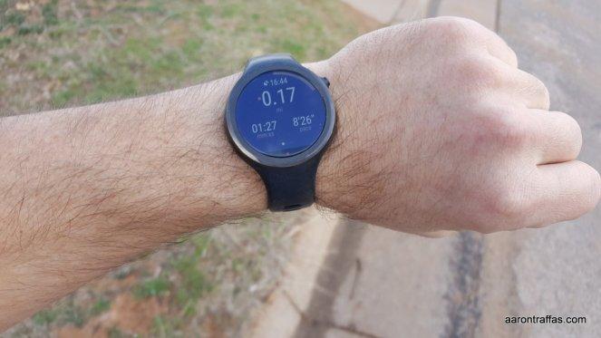 Moto Body display during run