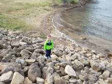 Nolan on the rocks