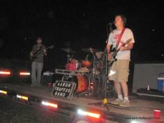 Aaron Traffas Band plays live music near Lawrence, Kansas