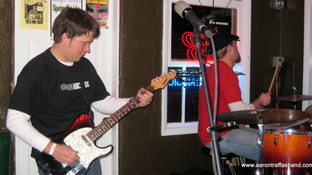 The Aaron Traffas Band plays ag rock and alternative country originals and sing-along favorites.