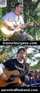 Trevor Burgess and Aaron Traffas