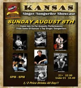 Country Kansas Singer Songwriter Showcase