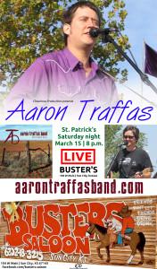 20140315 Buster's - Aaron