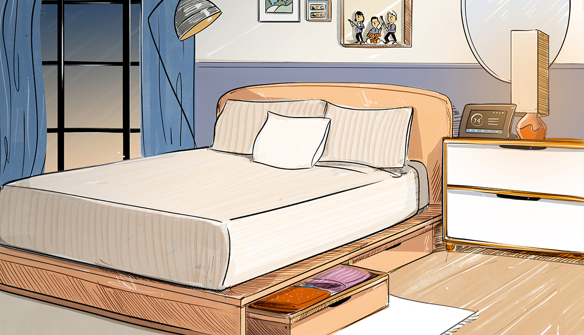 Property Brothers Bedroom Remodel Ideas for Better Sleep on Bed Ideas For Small Rooms  id=23206