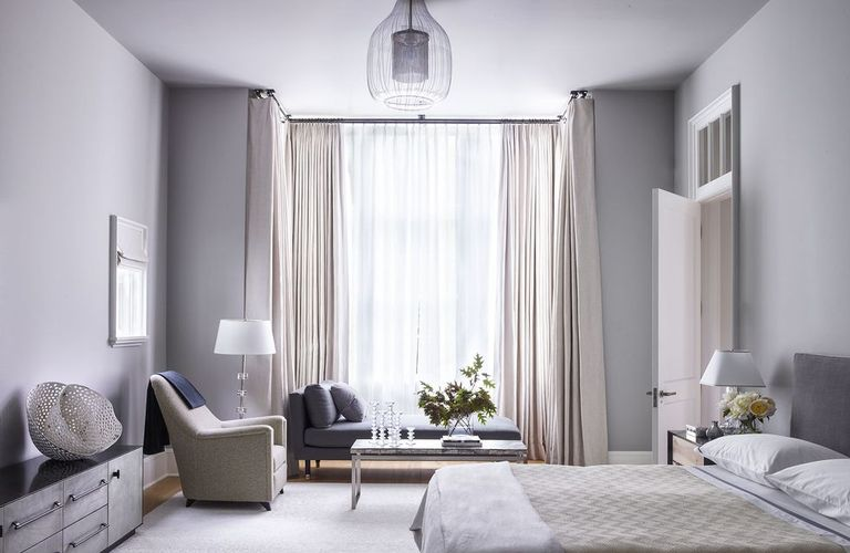 White double bedroom - An infallible guide to choosing the right paint
