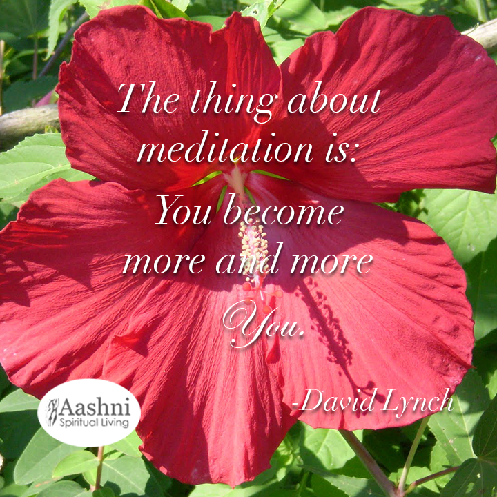 The thing about meditation
