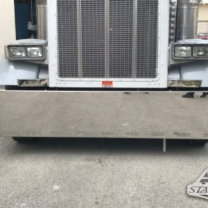 "Bumper 20"" with 9 LED 3 Line, Tire Protection Included - For Peterbilt 370 Serie & 380 Serie - Kenworth W900 - Freightliner Classic  Part#: 000002.1.1.2631.30 $1,295"