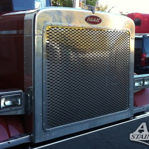 Grill Small Dimond Model - SS for Petb Peterbilt Part#: 010103.1.0.02 $445