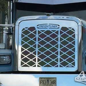 Grill Diamond & Mesh with Logo SS for FL Classic  Part#: 030103.1.0.14 $875