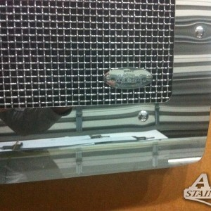 Grill Mesh with Logo SS for FL Classic  Part#: 030103.1.0.15  $895