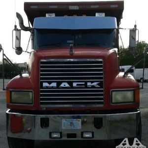 Visor Standard V-Shape for Mack - CH600 - CH613 - VISION - GRANITI  Part#: 060101.1.0.22200$485