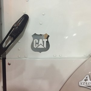 Side Hood Logo Caterpillar  Part#: 000019.1.0.1  $45 each