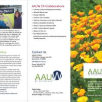 AAUW California Informational Brochure
