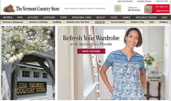 aaxis case study vermont country store