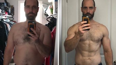 Photo of Man sheds more than 3st and gains a six pack in 7 months with this weight loss plan