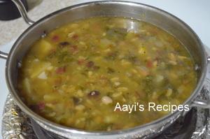 beetroot leaves-potato soup5