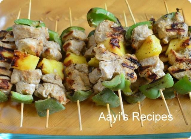 chick-veg kabab