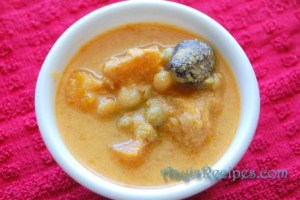 Pumpkin-Peas Masala(Dudde randayi)