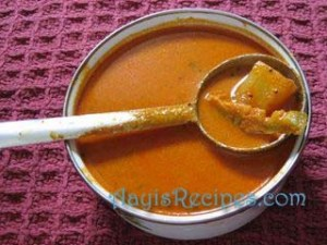 Coconut curry(Ghashi/Rosu/Udid Methi)