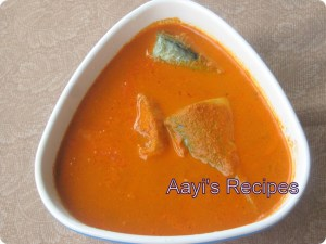 Fish Curry (Alle Kande Ambat)