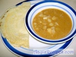 Potato Masala Bhaji (Batate Paattal Masale bhaji)