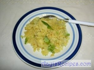 Chapathi upma/uppittu