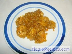 Shrimps in tamarind masala(Sungta phanna upkari)