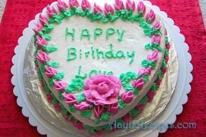 Cake decorating 1 – cake 4