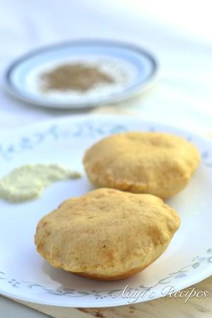 Mangalore buns(Banana puris)