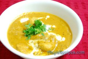 Butter chicken or Murg makhani