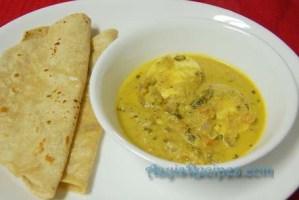 Egg curry with kasoori methi