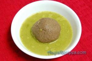Mashed green gravy(Massaru)