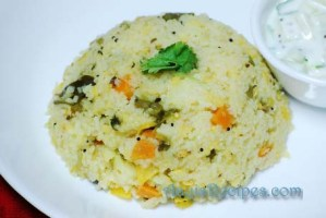 Vegetable pongal