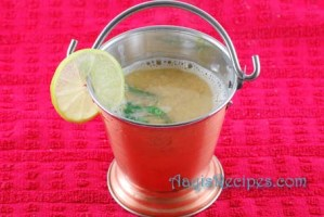 Masoor dal with lemon (Masoor dal varn)