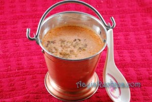 Buttermilk gravy with pepper and cumin(Jeer mirya taka kadi)