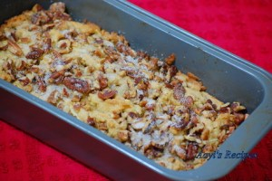 Apple Cake With Pecans