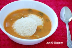 Gingery Idlis With Brown Rice