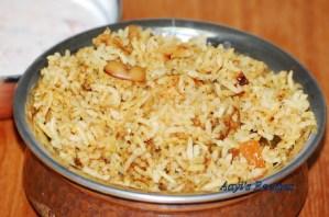 Chicken Biryani With Onion-Herb Marinade
