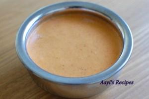 Mango Ginger Gravy (Ambe Haldi Sasam)
