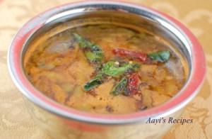 Radish Pods Gravy (Mulangi Saangi Ambat)
