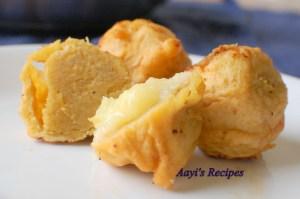 Sweet Chana Dal Fritters (Sukrunde)
