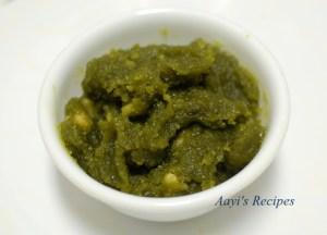 Green Peas Halva