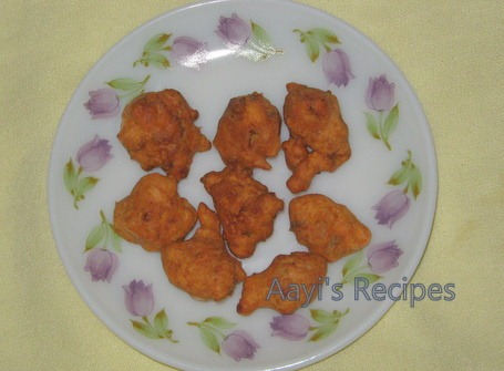 ginger pakoda