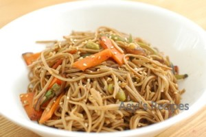 Stir Fried Noodles (With Homemade Sauce)